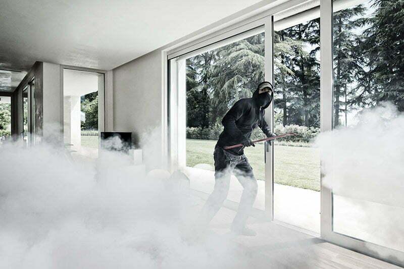 Le brouillard anti cambriolage, dispositif de sécurité en cas d'intrusion